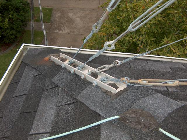 Roof Tower Guy Line Anchor Points