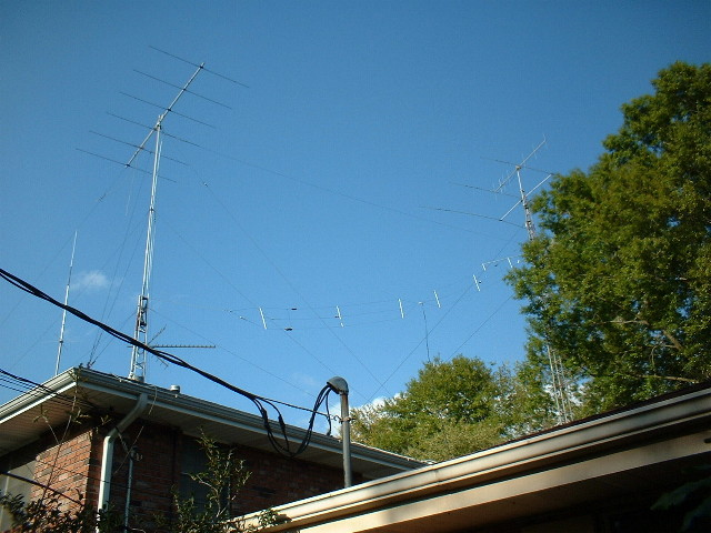 Installing an MF/LF Antenna