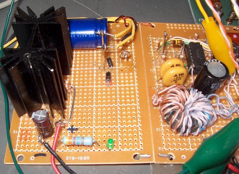 Tl494 Flyback driver circuit